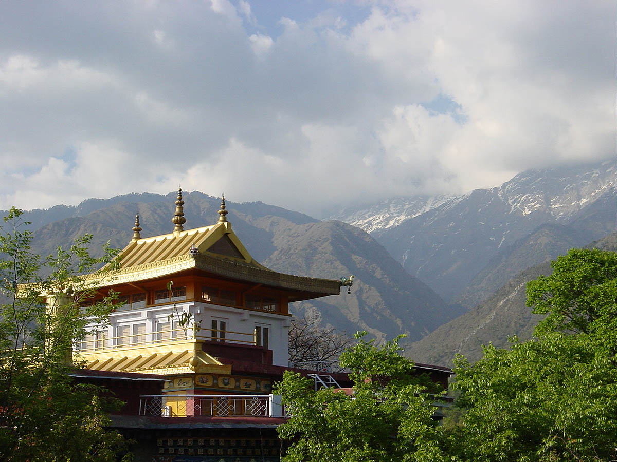 парк Норбулинка, Тибет