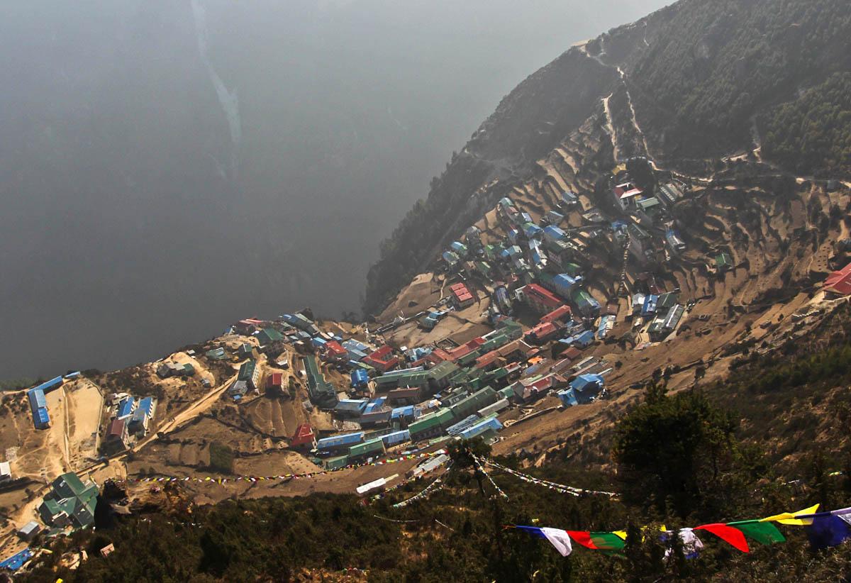 поселок Намче в нацпарке Сагарматха, Непал