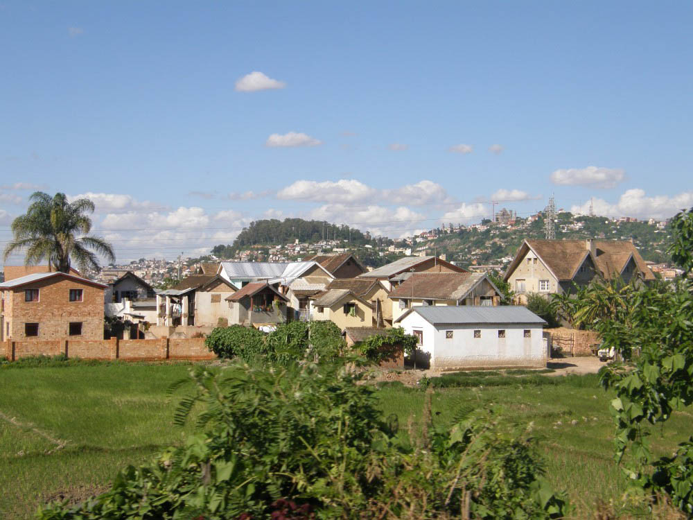 поселок на Мадагаскаре