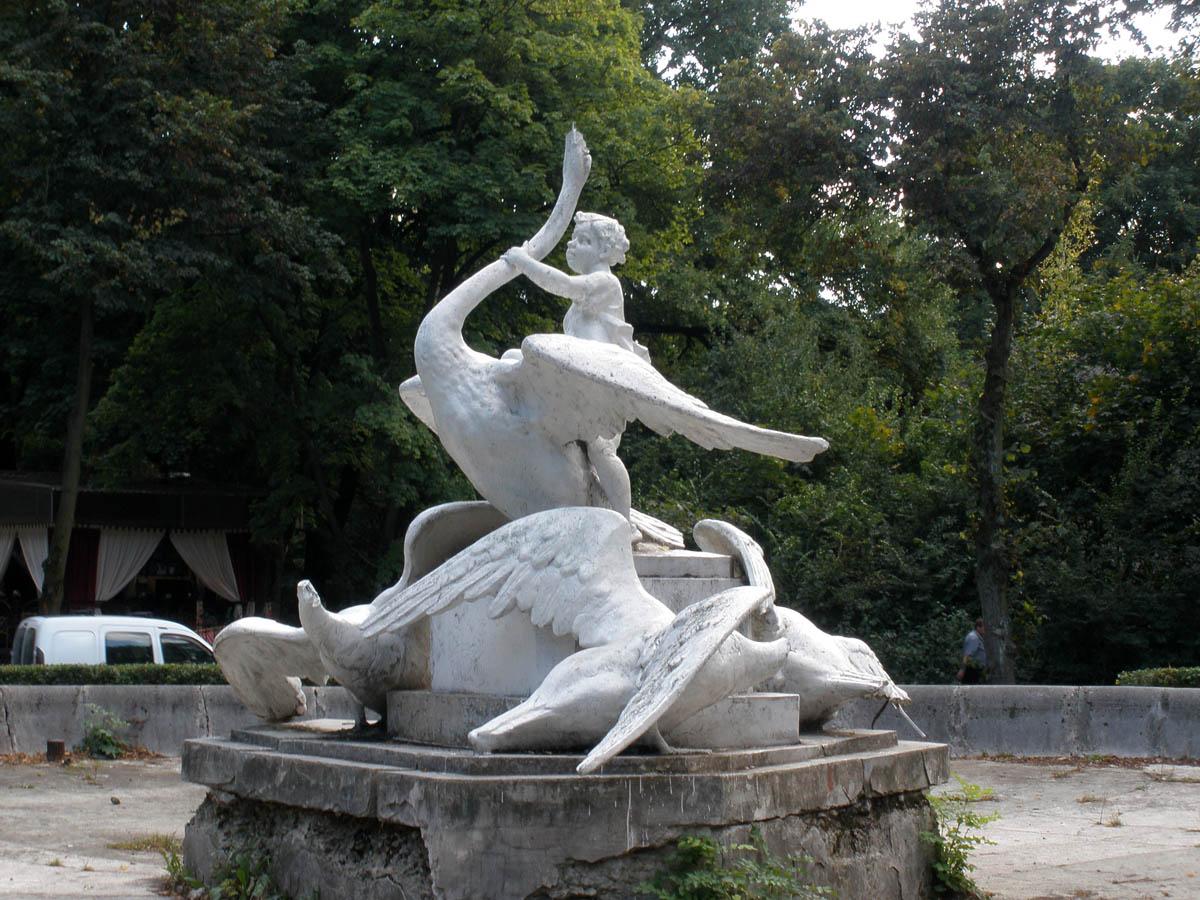 скульптура в Стрыйском парке