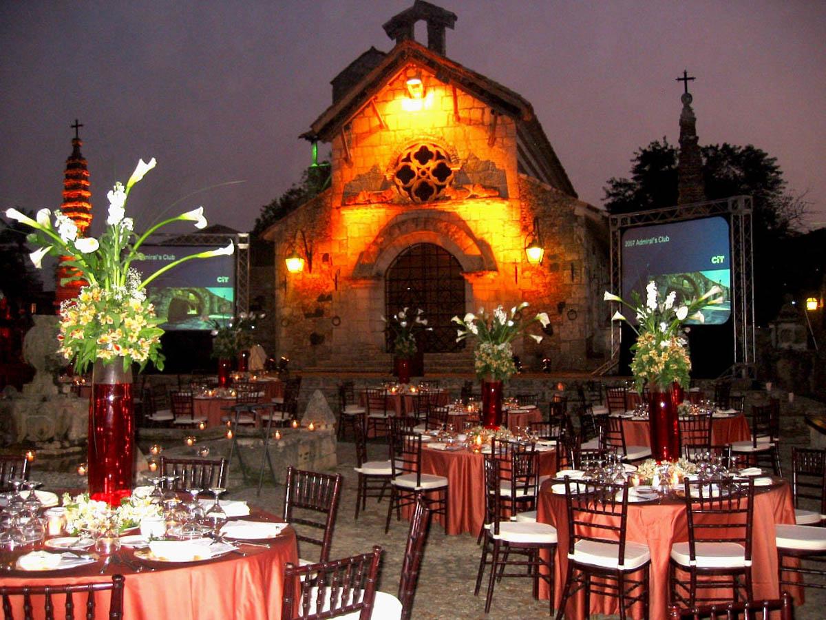 soiree rouge, Altos de Chavon