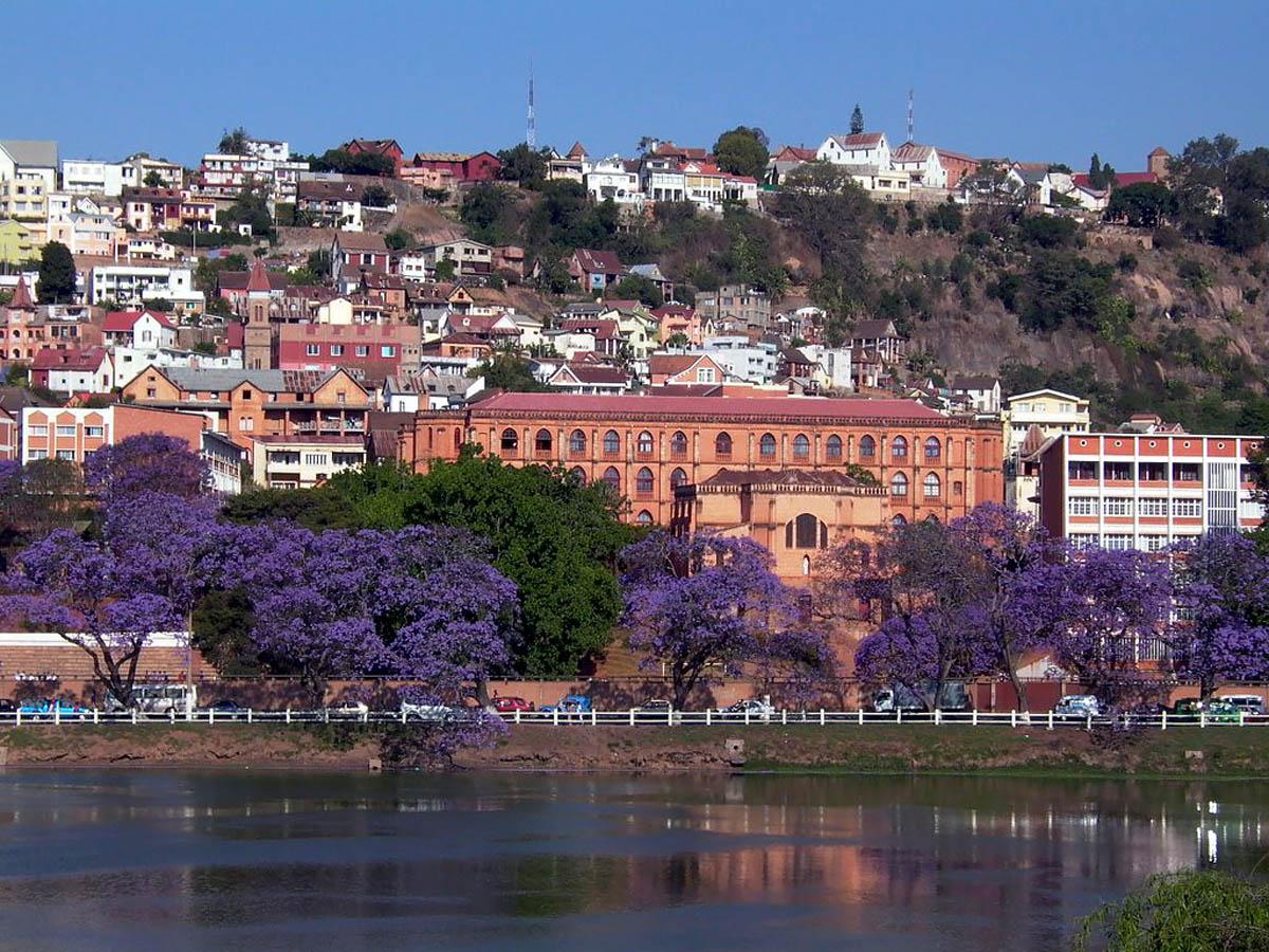 столица Мадагаскара Антананариву