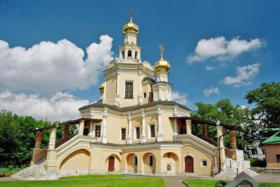 церковь Бориса и Глеба в Зюзино