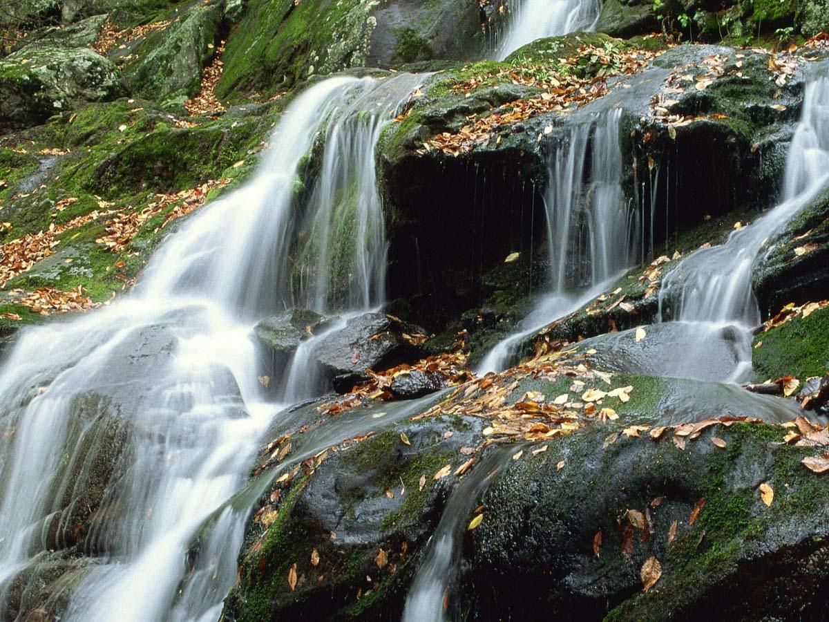 водопады нацпарка Шенандоа