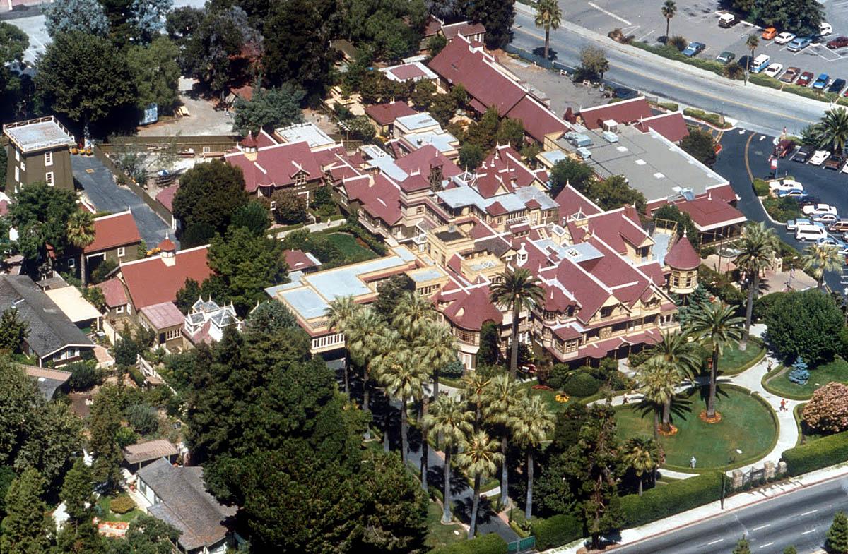 Дом Винчестеров с высоты