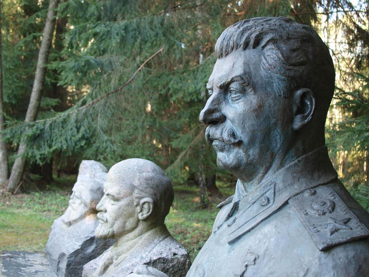 Gr?to parkas, Stalin