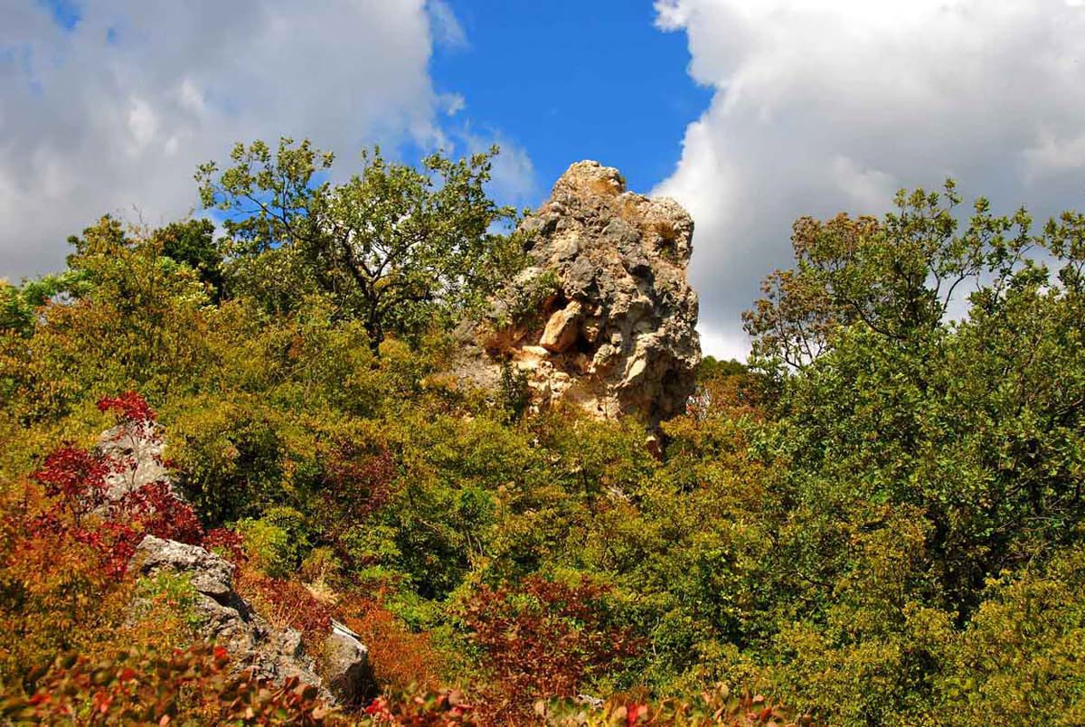 Кучук-Ламбатский каменный хаос, Алушта, Крым