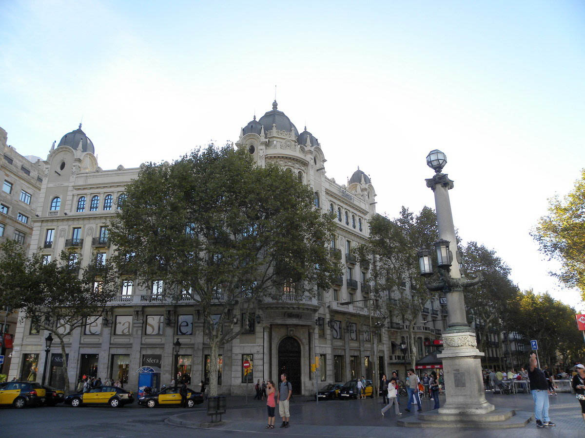 La Rambla street in Barselona