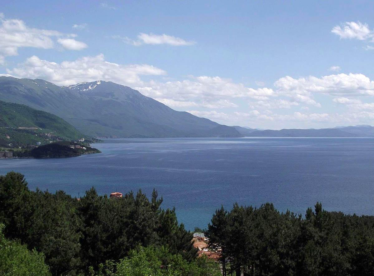 Охридское озеро, Греция