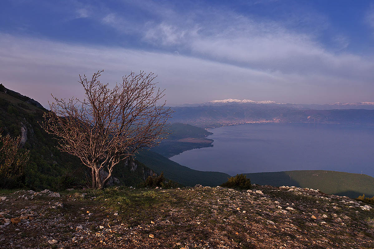 Охридское озеро, Македония, Греция