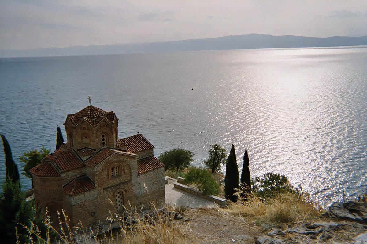 Охридское озеро, Охрид, Греция