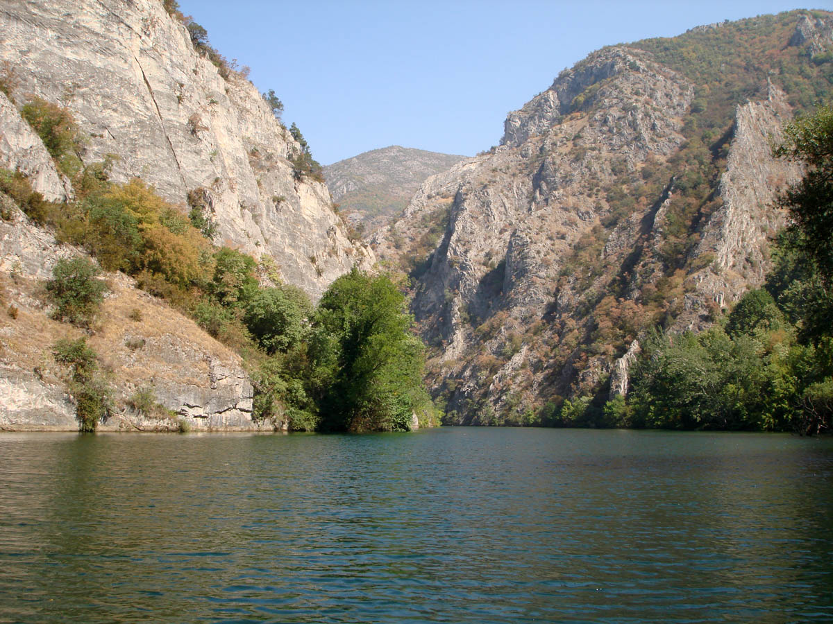 Охридское озеро в Греции