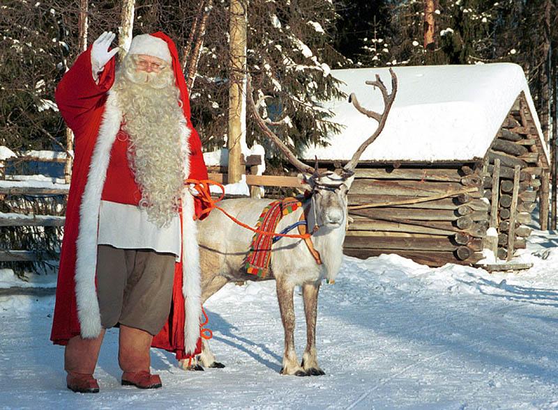 Санта-Клаус в Рованиеми