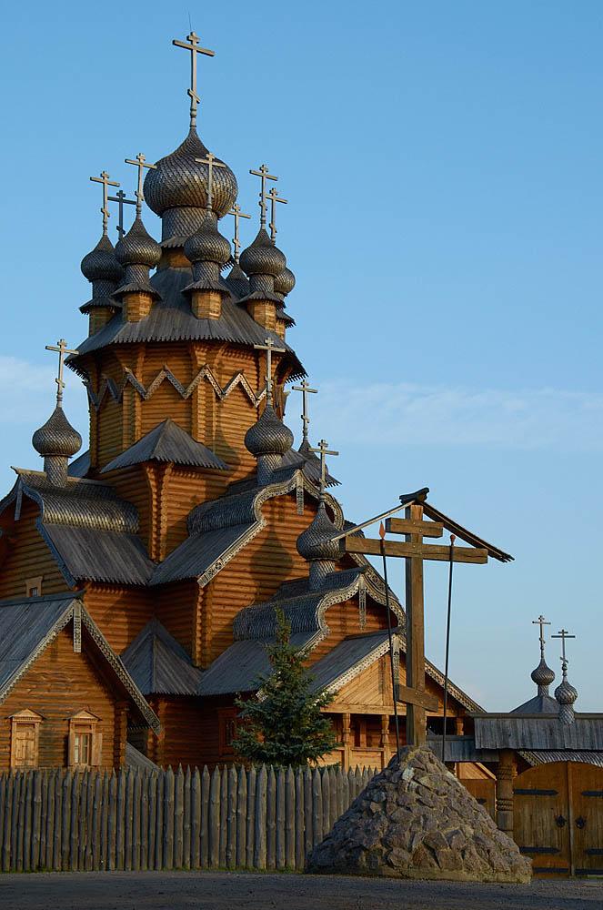 Скит Всех Святых в Святогорске