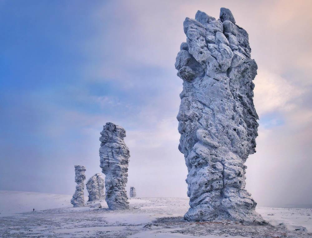 Столбы выветривания Маньпупунер, Урал