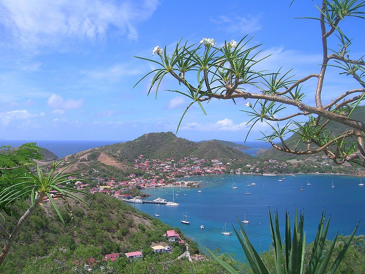 Vue de la Baie des Saintes, Guadeloupe