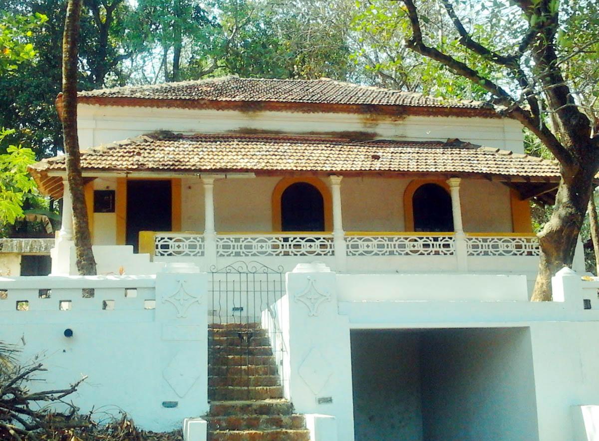 архитектура острова Чорао в Гоа