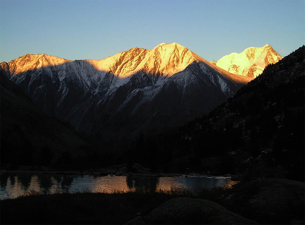 биосферный заповедник Алтай - золотые горы
