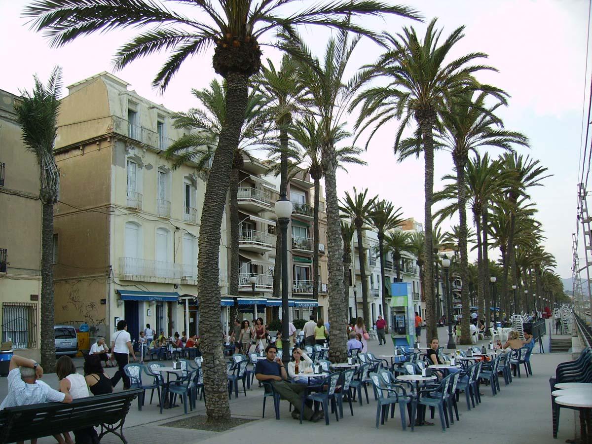 бульвар Ла Рамбла, Барселона, Испания