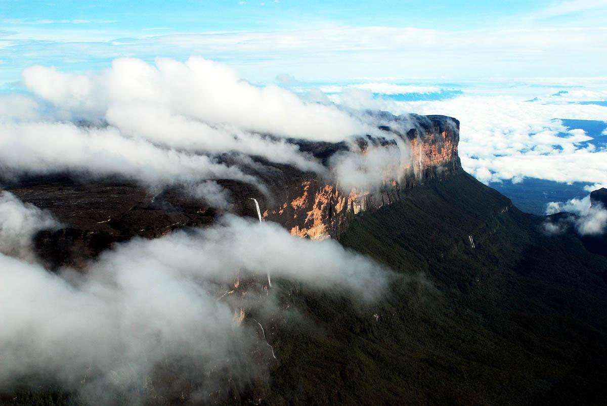 гора Рорайма, нацпарк Канайма, Венесуэла