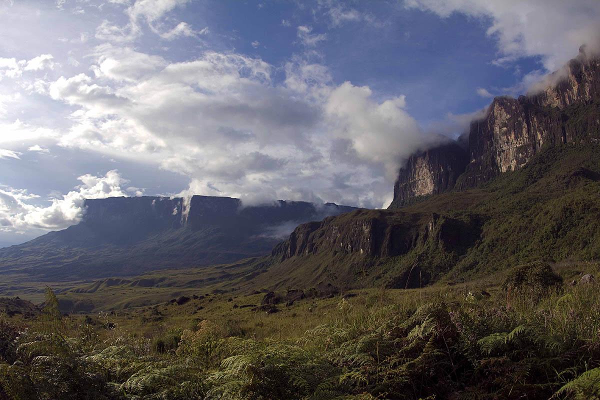 гора Рорайма в Южной Америке