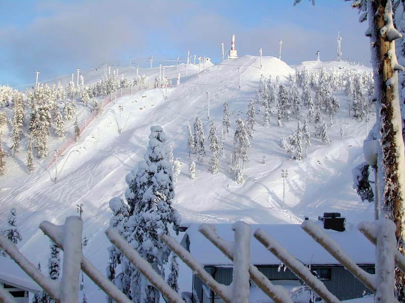 горнолыжный курорт Рука, Финляндия