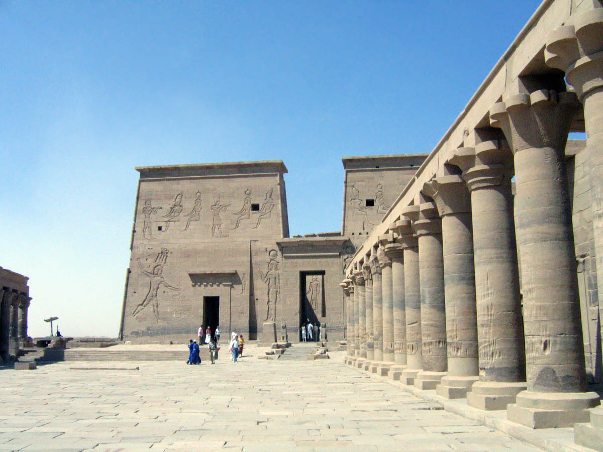 храмы острова Филе, Египет