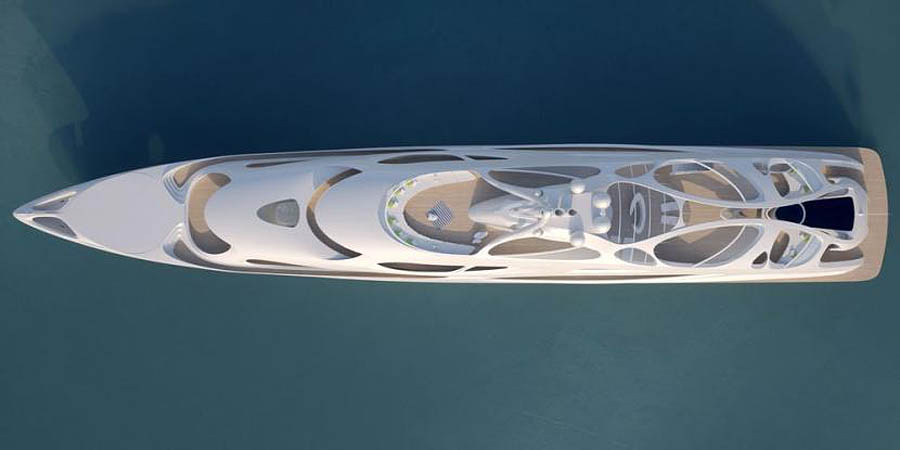 концепт супер-яхты