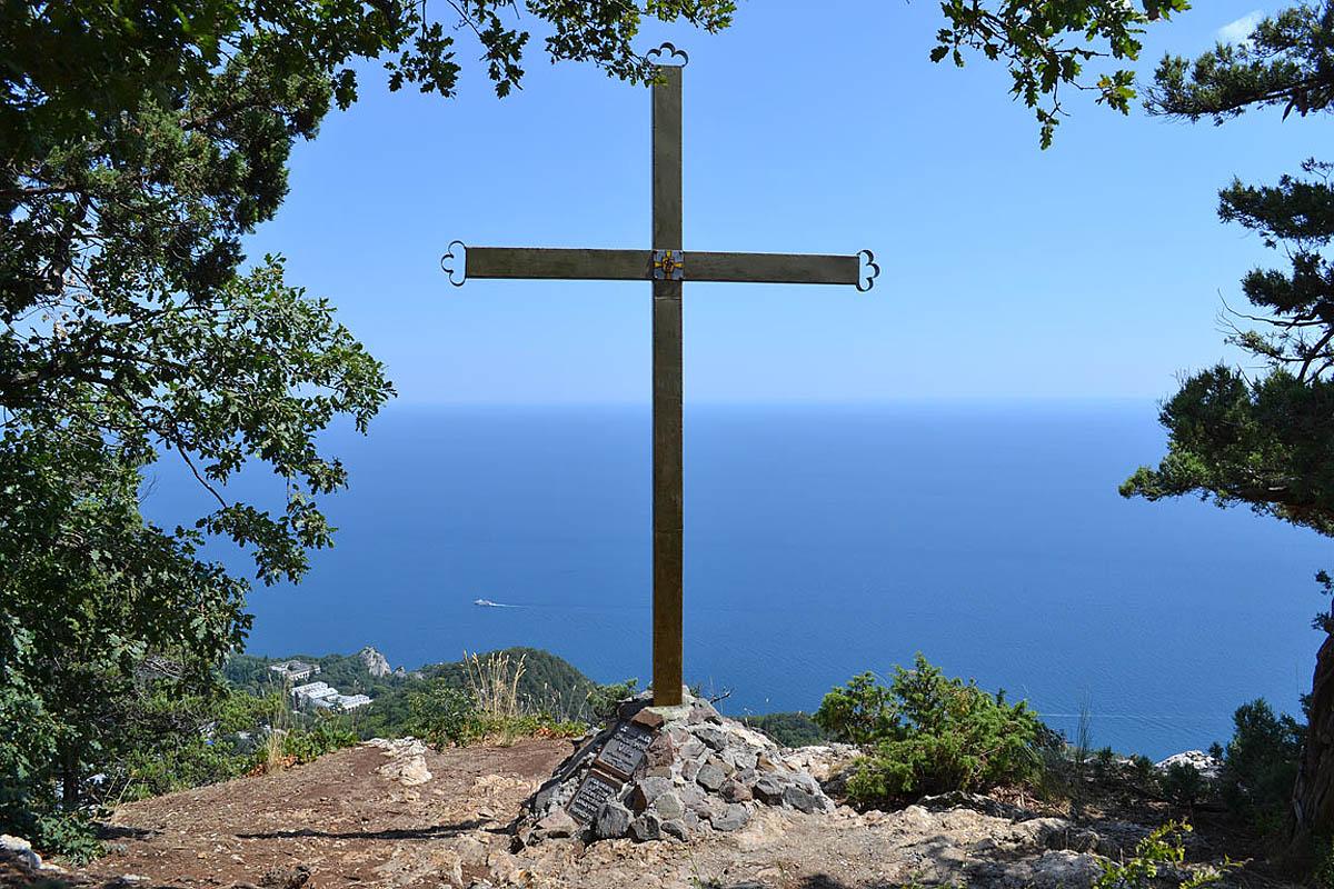 крест на горе Ай-Никола
