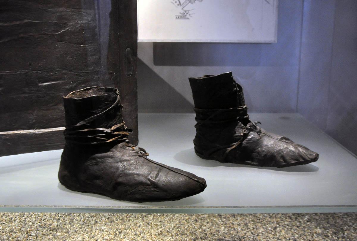 лапти викингов в музее Осло