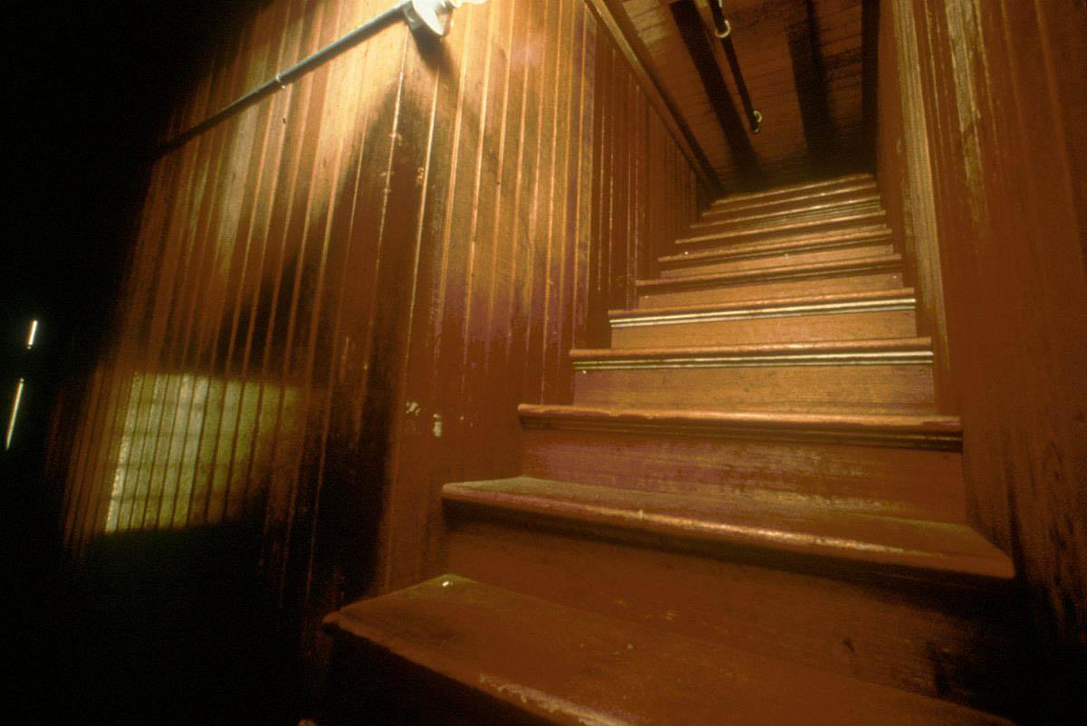 лестница в никуда в Доме Винчестеров