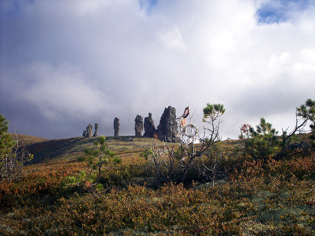 мансийские болваны на плато Маньпупунер
