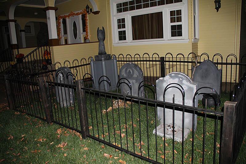 могилы родных Сары Винчестер