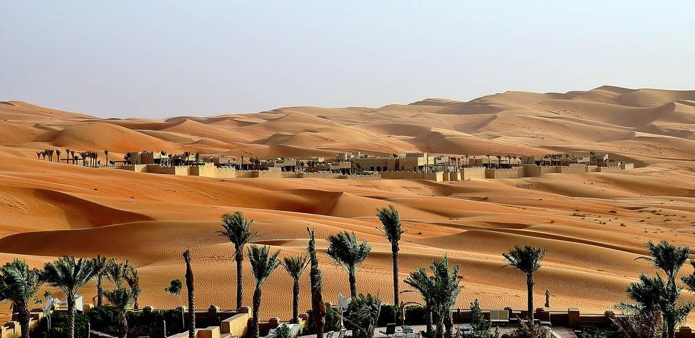 оазис Лива, Абу-Даби, ОАЭ