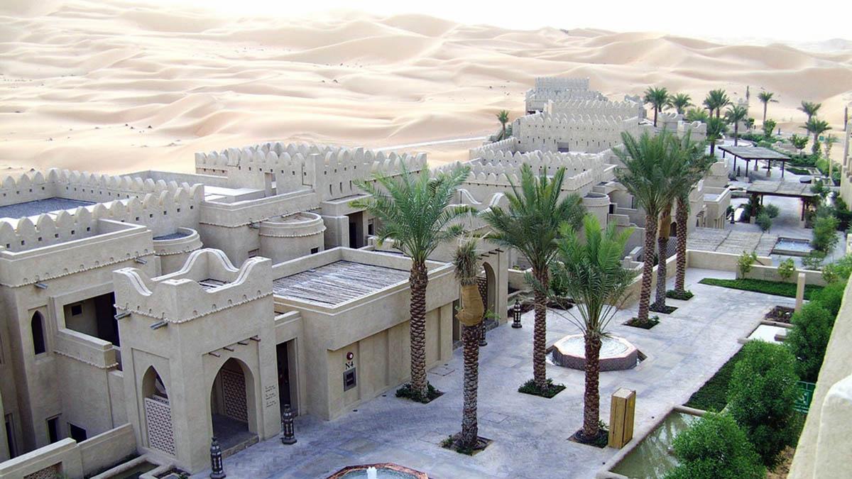 оазис Лива, Абу-Даби