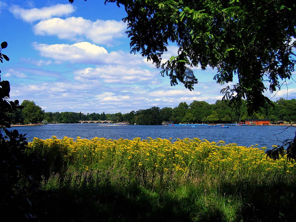 озеро Серпентайн, Гайд-парк, Лондон