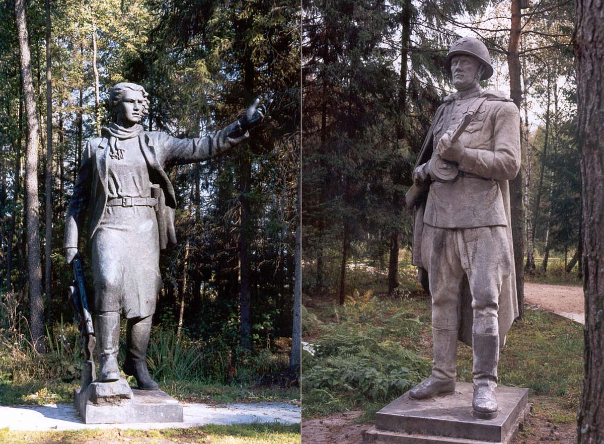 памятники в Груто Парке