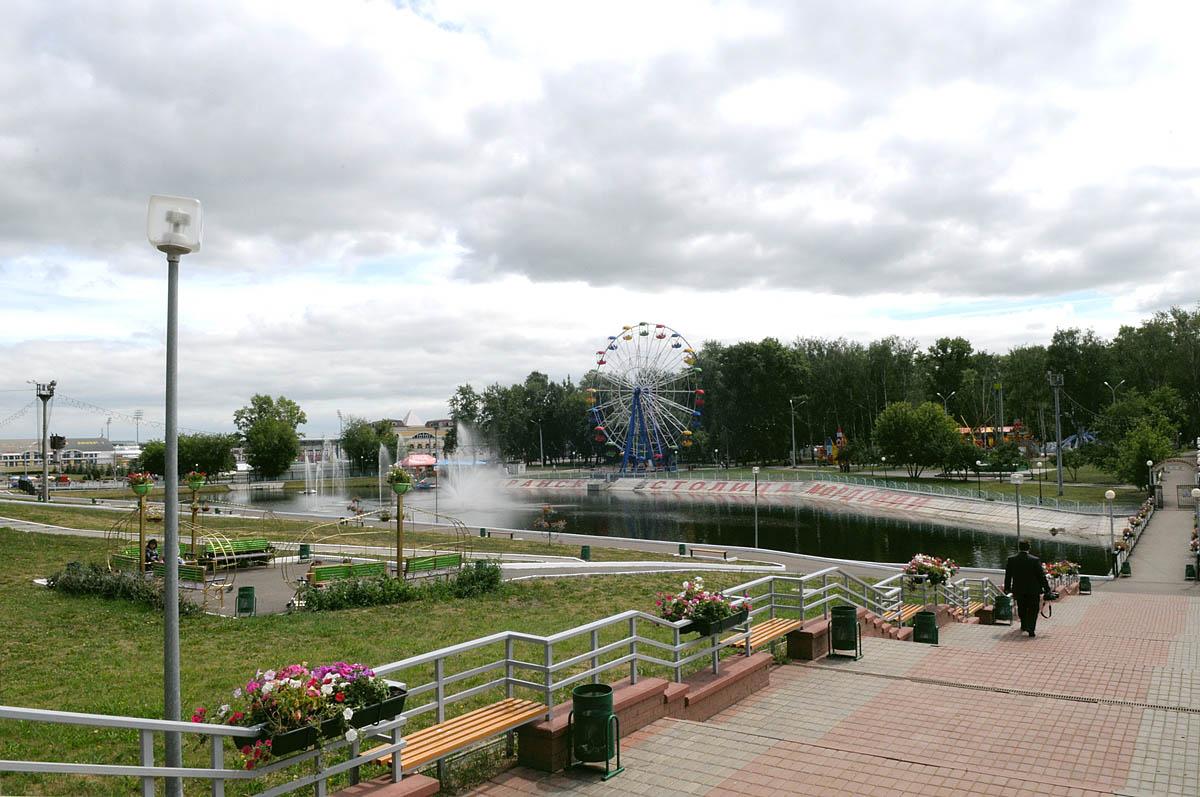 парк Пушкина, Саранск, Мордовия