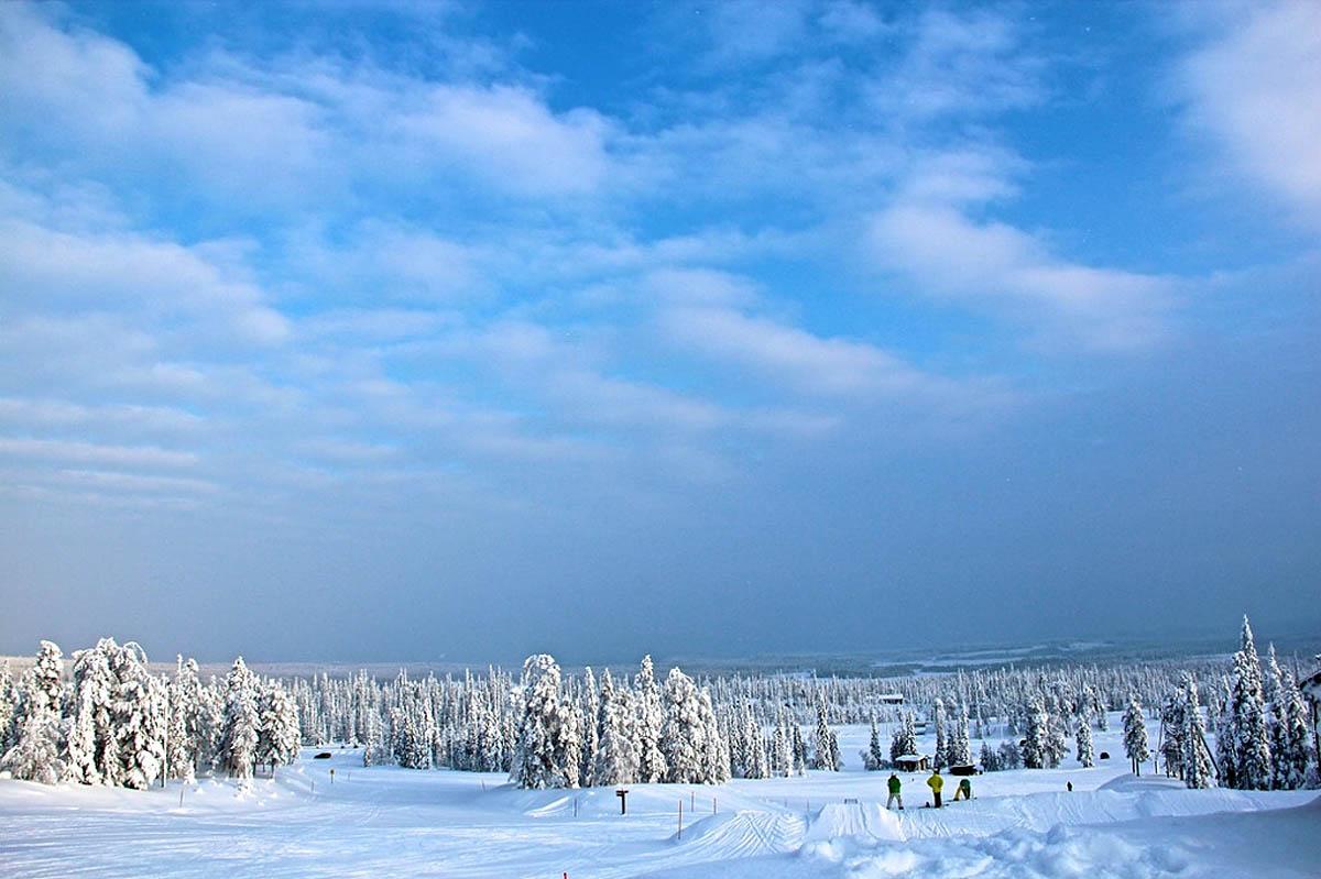 парк Рука в Финляндии