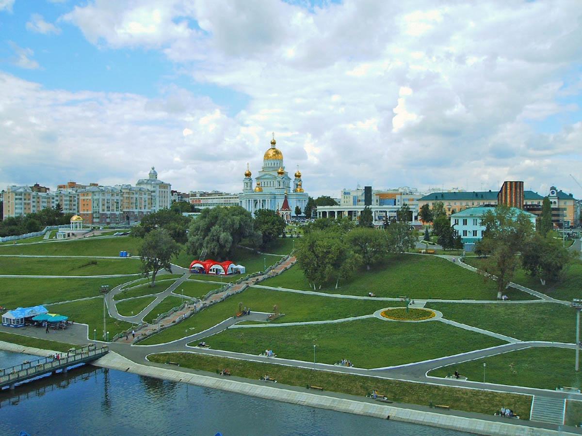 парк им. Пушкина в Саранске