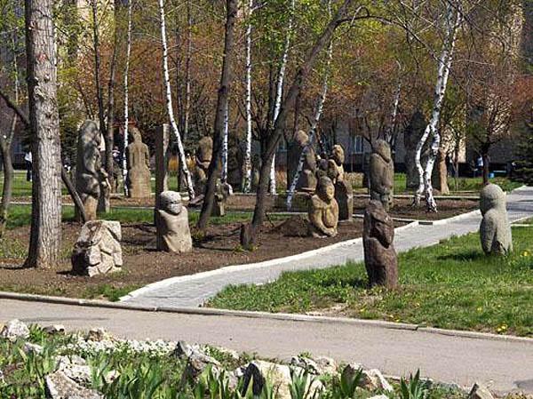 парк-музей каменных скульптур, Луганск