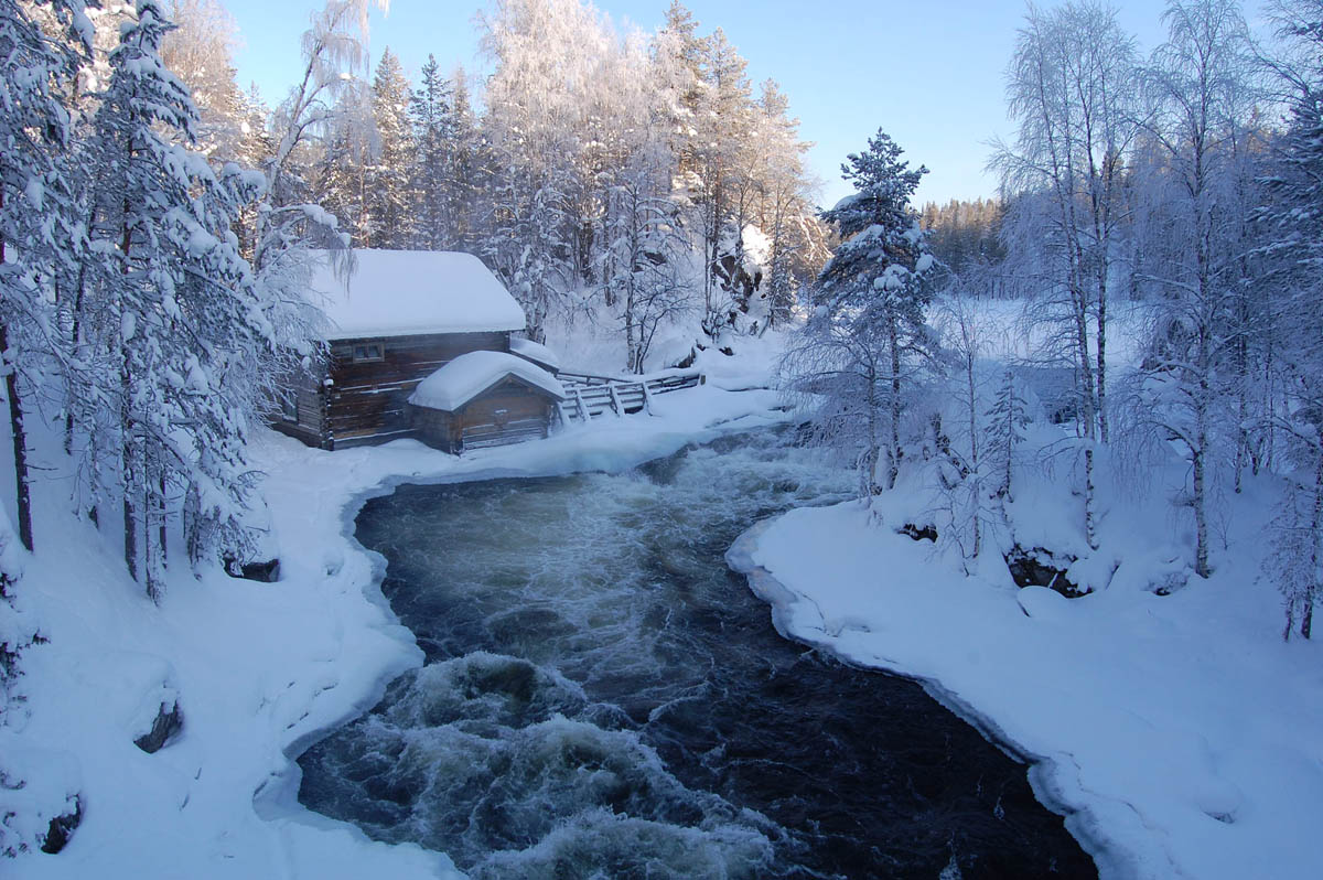 природный парк Рука, Финляндия