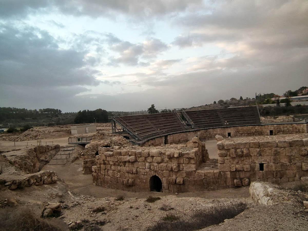 римский амфитеатр в Бейт-Гуврине