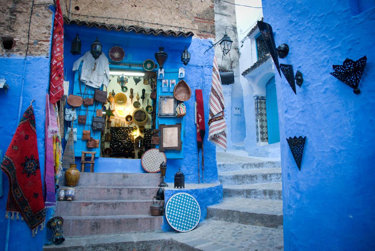 синие улицы Шефшауэна, Марокко