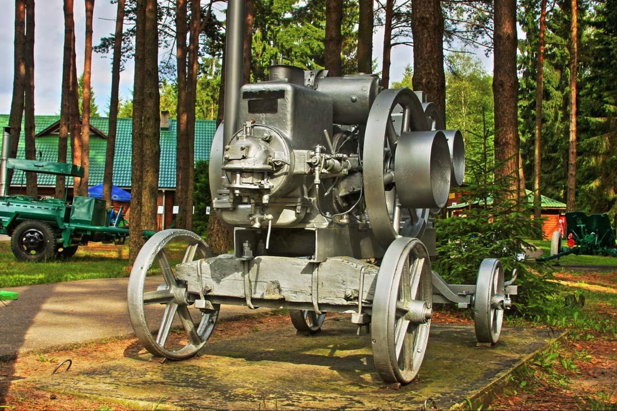 советская техника в Груто Парке