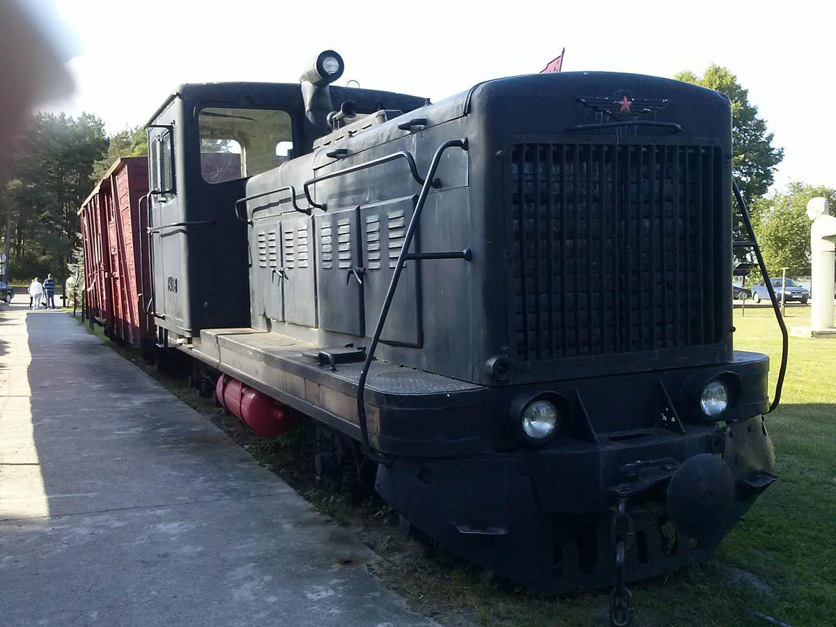 советский локомотив в Груто Парке
