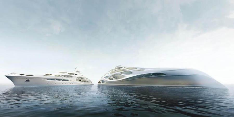 супер-яхта Заха Хадид