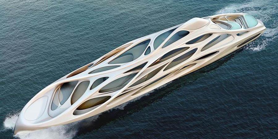супер-яхта для богачей