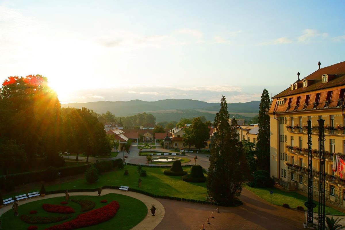 термальный курорт Пьештяны, Словакия