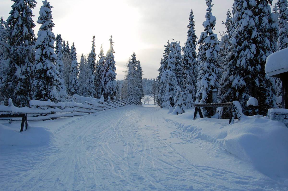 трассы парка Рука, Финляндия